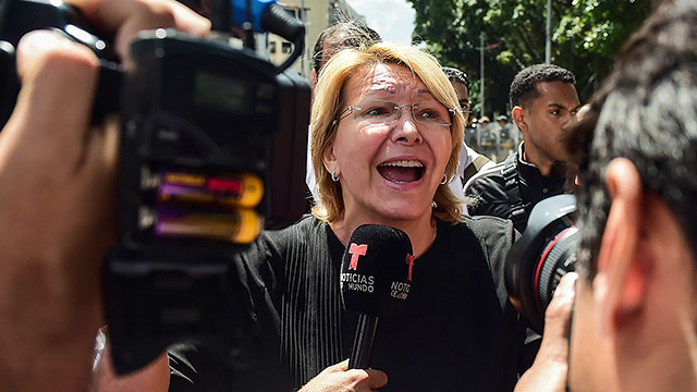 Wichtige Kritikerin Maduros kaltgestellt