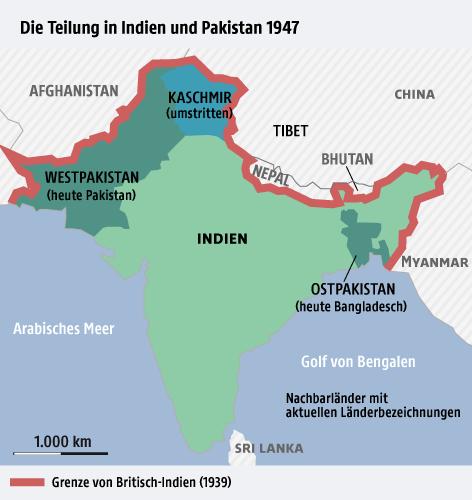 Grenze Indien Pakistan