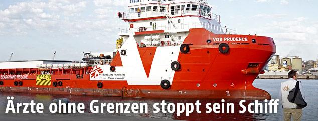 Das MSF-Schiff VOS Prudence