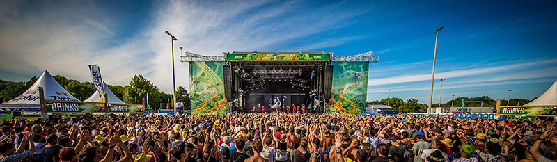 Die Green Stage beim Frequency