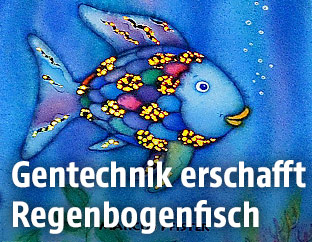 """Cover des Kinderbuches """"Der Regenbogenfisch"""""""
