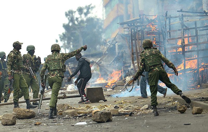 Polizei in Kenia