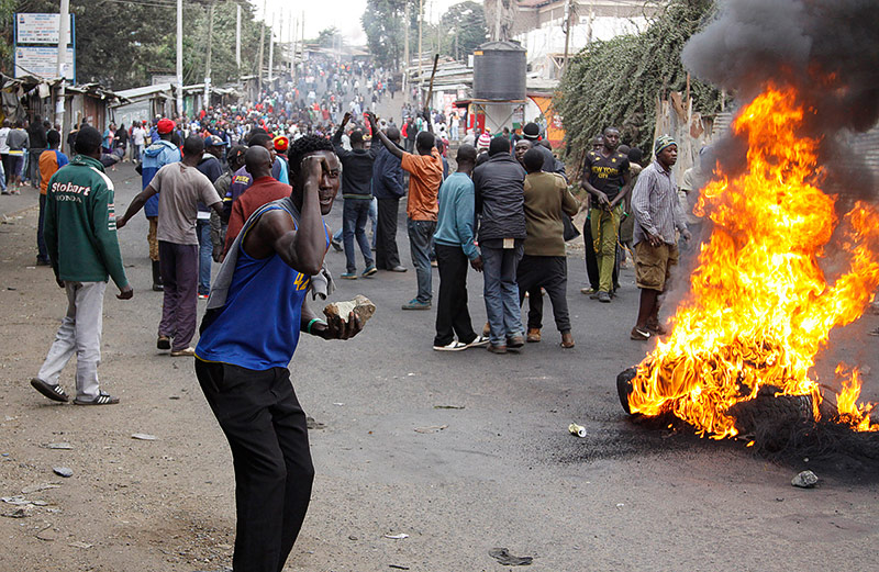 Proteste in Kenia
