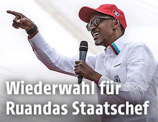 Der ruandische Präsident Paul Kagame