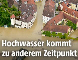 Hochwasser am 3. Juni 2013 in Melk