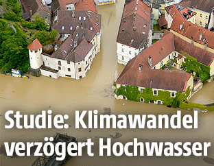 Hochwasser am 3. Juni 2013 in Melk