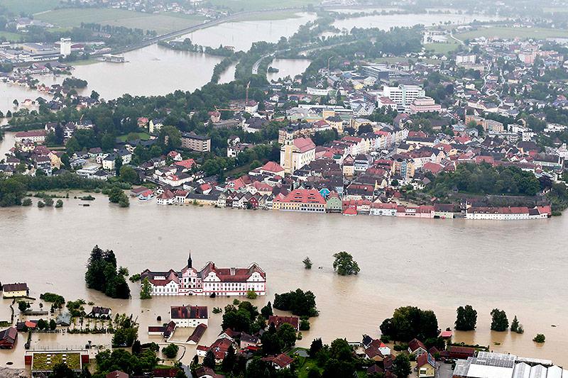 Hochwasser am 3. Juni 2013 in Schärding
