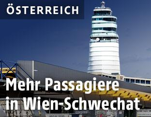 Tower am Flughafen Schwechat