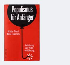 """Cover des Buchs """"Populismus für Anfänger"""""""
