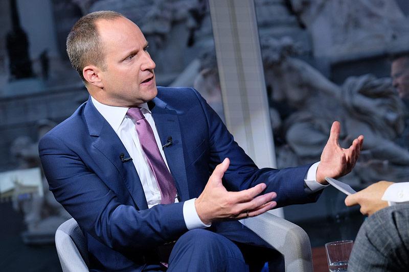 """NEOS-Parteichef Matthias Strolz im ORF-""""Sommergespräch"""" mit Tarek Leitner"""