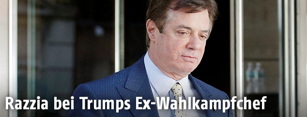 Trumps Ex-Wahlkampfberater Paul Manafort