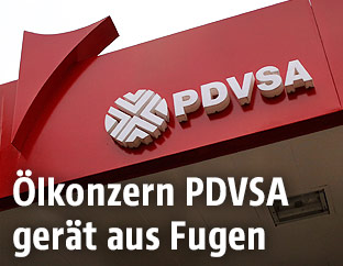 Logo des Konzerns PDVSA