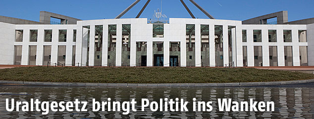 Parlament in Canberra