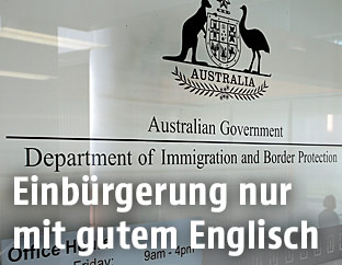 Department of Immigration and Border Protection in Sydney