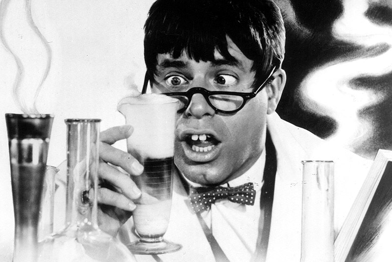 "Jerry Lewis in ""The Nutty Professor"""