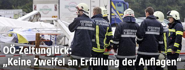 Feuerwehr am Unfallort