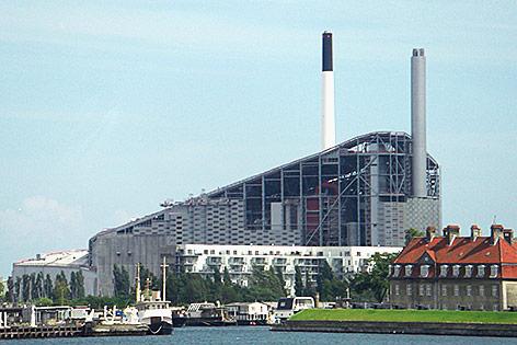 Müllverbrennungsanlage in Kopenhagen