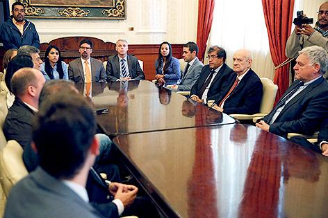 Sondersitzung der Nationalversammlung von Venezuele mit internationalen Diplomaten