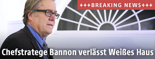 Trumps ehemaliger Chefstratege, Stephen Bannon
