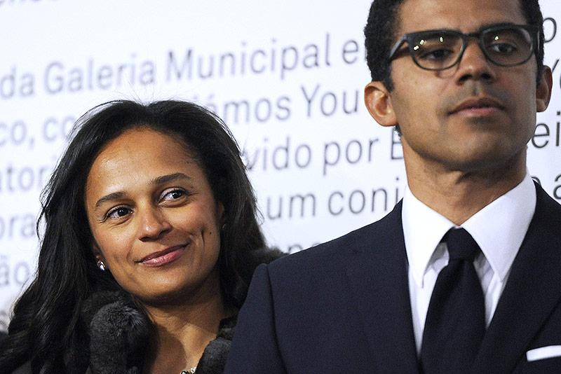 Isabel dos Santos mit ihrem Mann  Sindika Dokolo
