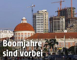 Baustellen in Luanda, Angola