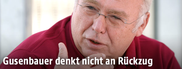 Ex-Kanzler Alfred Gusenbauer
