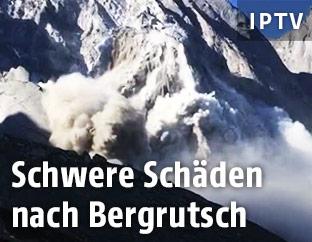 Bergrutsch in der Schweiz