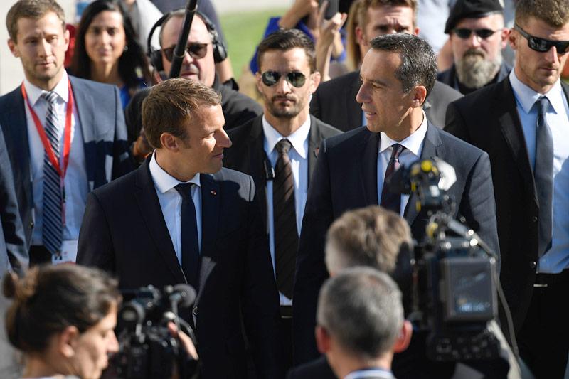 Macron und Kern einig im Kampf gegen Sozialdumping — EU-Entsenderichtlinie