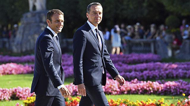 """Macron will """"Europa neu gründen"""""""