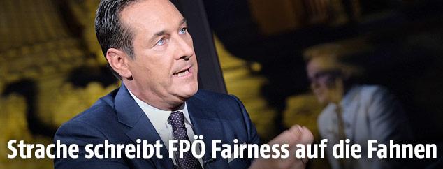 FPÖ-Chef Heinz-Christian Strache