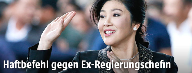 Thailands Ex-Regierungschefin Yingluck Shinawatra
