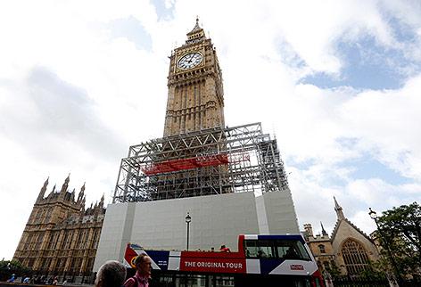 "Elizabeth Tower ""Big Ben"" in London"