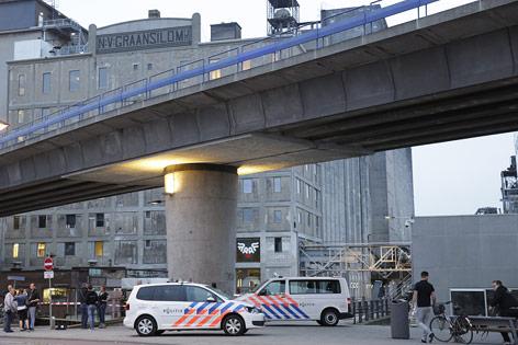 Polizeieinsatz in Rotterdam