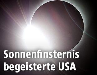 Totale Sonnenfinsternis