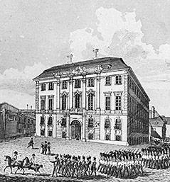 Historische Aufnahme vom Ballhausplatz