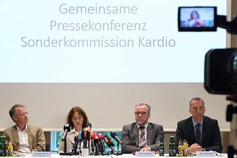 Presskonferenz zu Mordfällen Niels H.