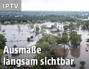 Überflutetes Gebiet