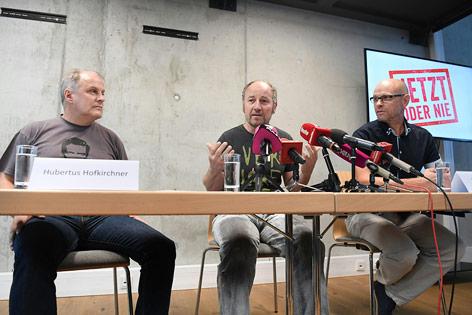 Hubertus Hofkirchner, Roland DŸringer und Walter Naderer