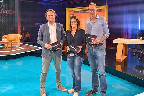 Hanno Settele, Lisa Gadenstätter und Peter Welter