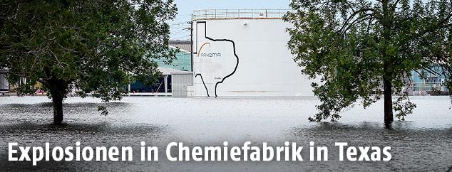 Chemiefabrik in Crosby