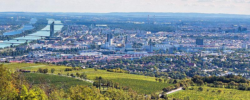 Stadtansicht von Wien