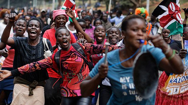 """""""Historischer Tag"""" für Kenia und ganz Afrika"""