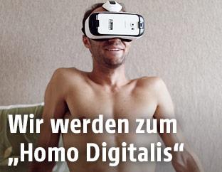 "Szene aus ""Homo Digitalis"""