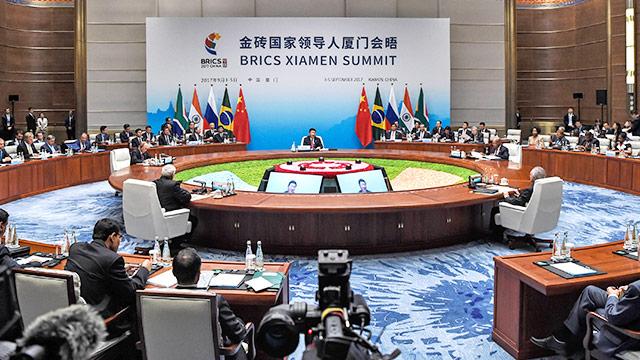 China will BRICS gegen USA einen