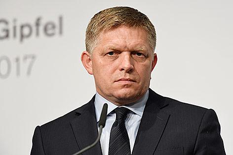Slowakeis Ministerpräsident Fico