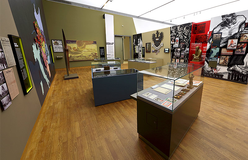 Ausstellungsraum im Haus der Geschichte