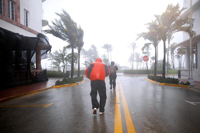 Hurrikan in Miami