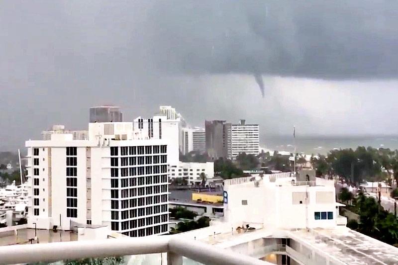 Tornado vor Fort Lauderdale