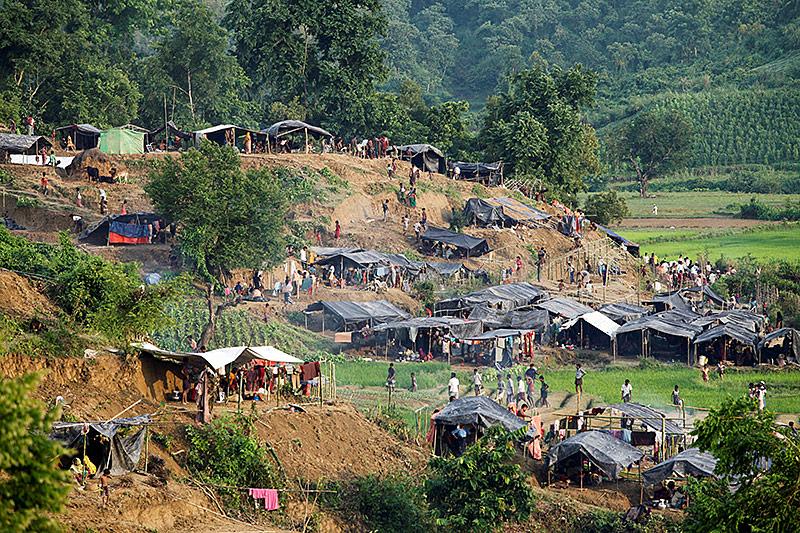 Flüchtlingscamp in Bangladesh