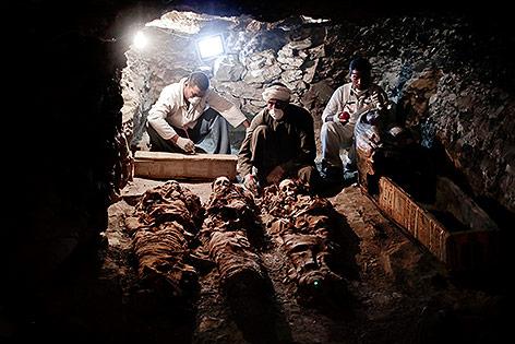 Altägyptisches Grab